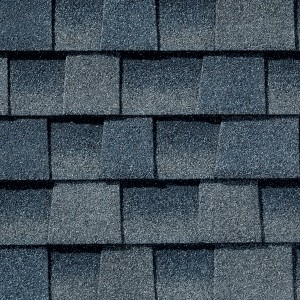 Close up photo of GAF's Timberline Ultra HD Biscayne shingle swatch