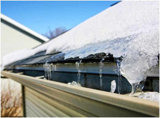 gutter winter maintenance