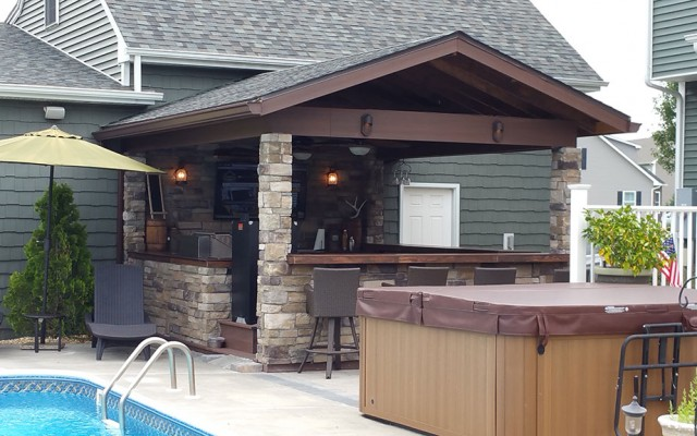 Outdoor Kitchen Design | Salisbury, MD | Spicer Bros ...