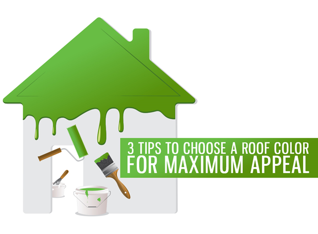 3 tips to choose a roof color for maximum appeal for Roofing colors how to choose