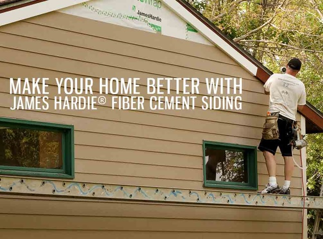 Make Your Home Better with James Hardie® Fiber Cement Siding