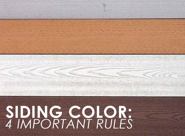 Siding Color: 4 Important Rules