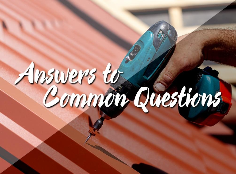 Our Answers to Common Questions about Roof Installation