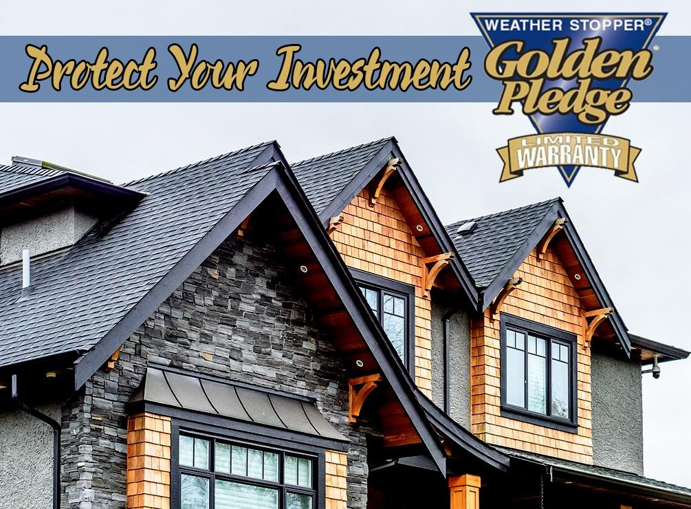 Protect Your Investment with the Golden Pledge® Warranty