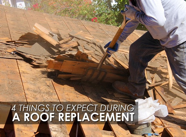 4 Things to Expect During a Roof Replacement