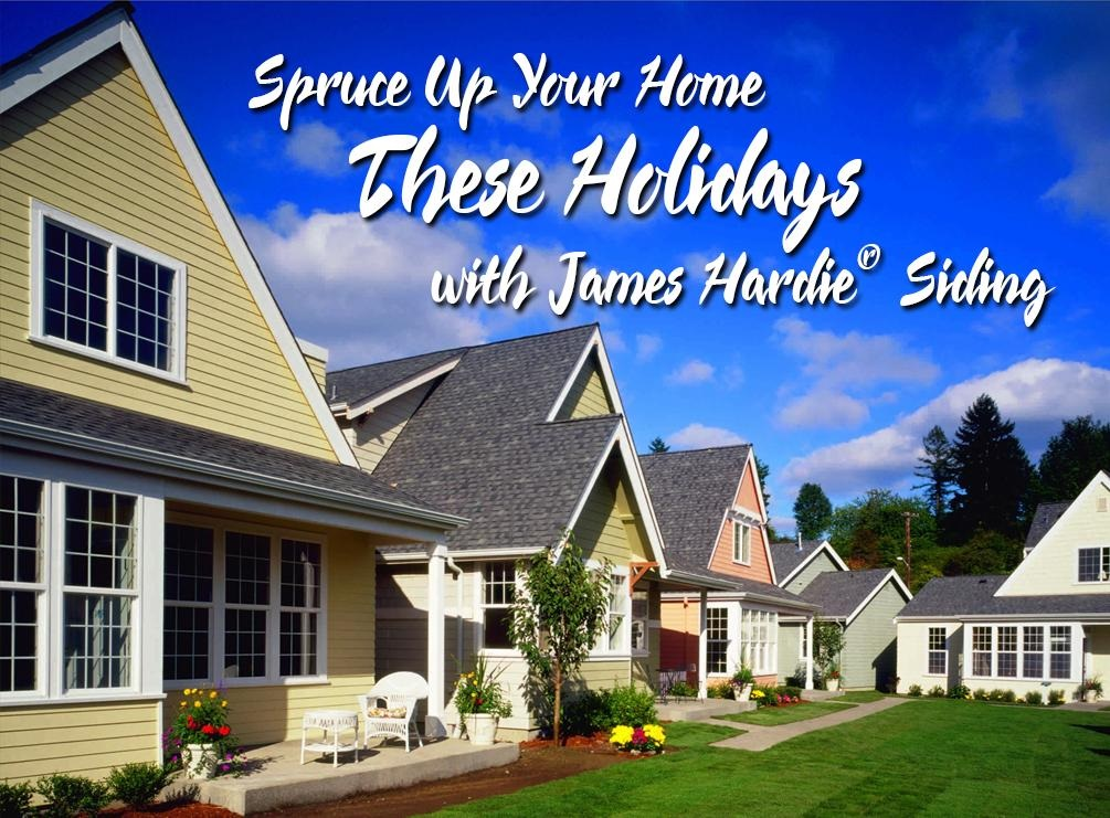 Spruce Up Your Home These Holidays with James Hardie® Siding