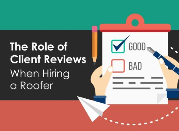 The Role of Client Reviews When Hiring a Roofer