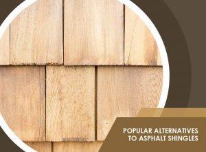 Popular Alternatives to Asphalt Shingles