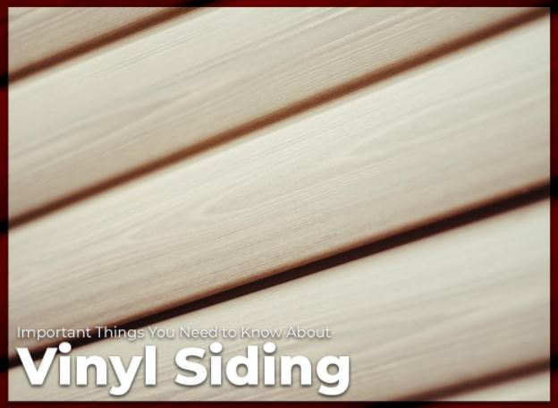 Important Things You Need To Know About Vinyl Siding