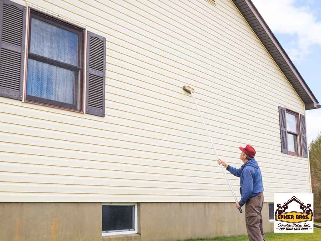 How To Remove Paint Stains From Vinyl Siding Spicer Bros
