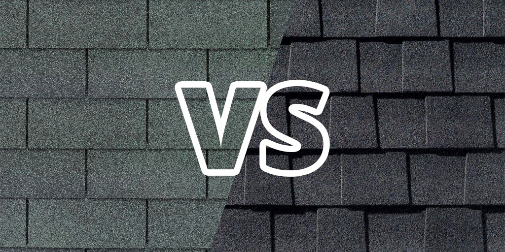 3-Tab Shingles vs. Architectural Shingles