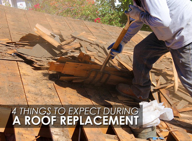 Things to Expect During a Roof Replacement